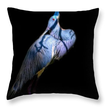 Eye On Heaven Throw Pillow