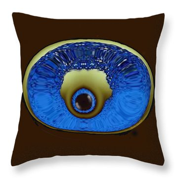 Eye Pod Throw Pillow