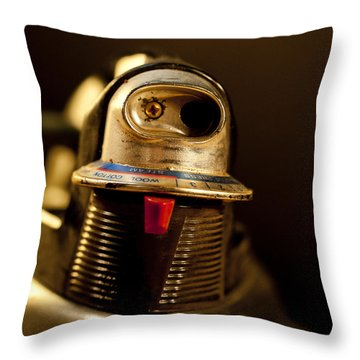 Eye To Eye Throw Pillow by Wilma  Birdwell