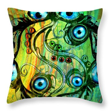 Eye Understand Throw Pillow