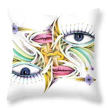 Eyelegan Throw Pillow