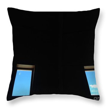 Eyes On The Sky Throw Pillow