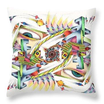 Eyevis Throw Pillow