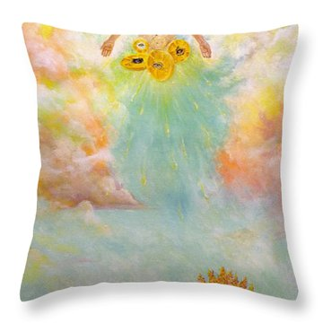 Ezekiel Revisited Throw Pillow