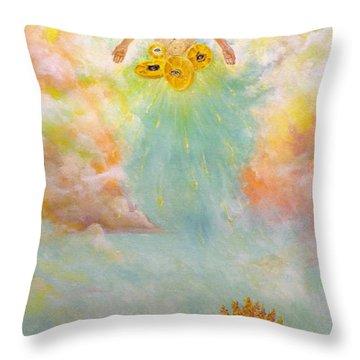 Ezekiel Revisited Throw Pillow