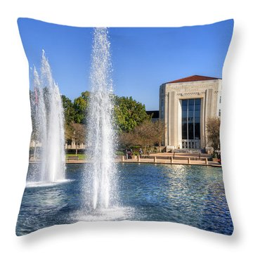Ezekiel W. Cullen Building Throw Pillow