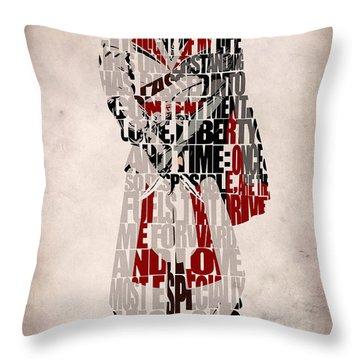 Ezio - Assassin's Creed Brotherhood Throw Pillow by Ayse Deniz