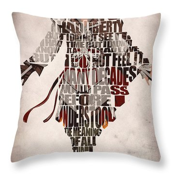 Ezio Auditore Da Firenze From Assassin's Creed 2  Throw Pillow
