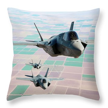 Fifth Generation Throw Pillows