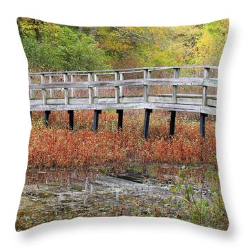 Fable Bridge Throw Pillow