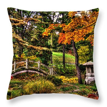 Fabyan Japanese Gardens I Throw Pillow