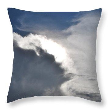 Throw Pillow featuring the photograph Face Of Mother Nature by Erhan OZBIYIK