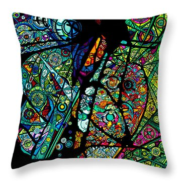 Facets Of Love Throw Pillow