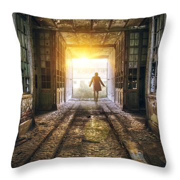 Factory Throw Pillows