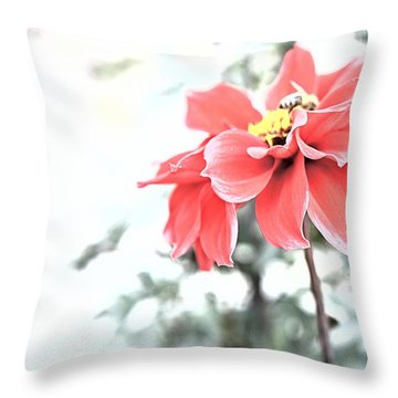 Fade Into You Throw Pillow