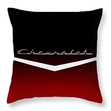 Hood Ornament Throw Pillows