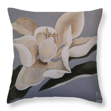 Faded Glory Throw Pillow by Nancy Kane Chapman