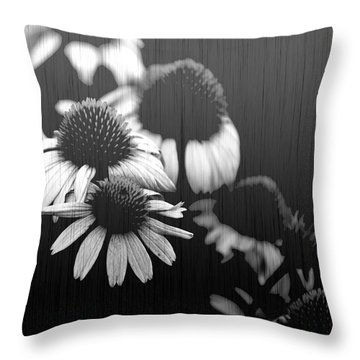 Faded Memory Throw Pillow by Amanda Barcon