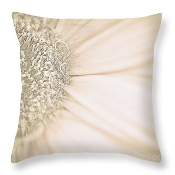 Throw Pillow featuring the photograph Fading Into Gold by Ruth Jolly