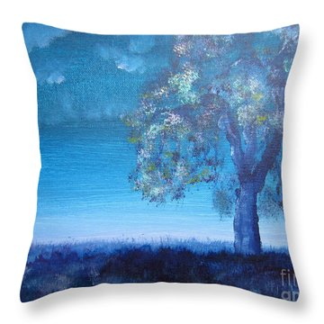 Fading Light Throw Pillow by Laurianna Taylor
