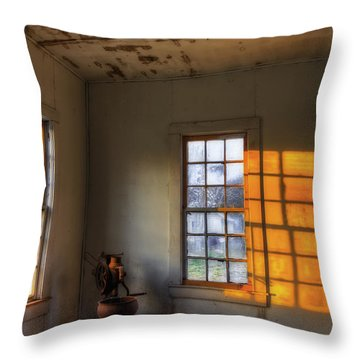 Fading Light Throw Pillow