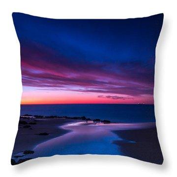 Fading Light Throw Pillow