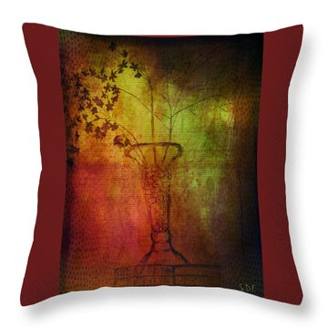 Fading Memory  Throw Pillow by Sherry Flaker