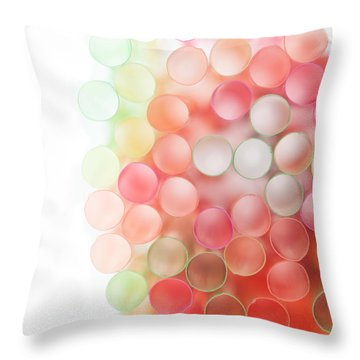 Fading Out Throw Pillow