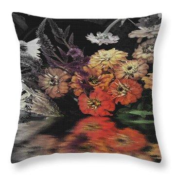 Fading Toward The Inside Throw Pillow