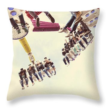 Fair Attraction Throw Pillow by Hans Engbers