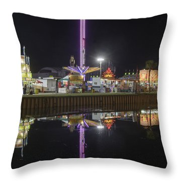 Fair Reflections Throw Pillow