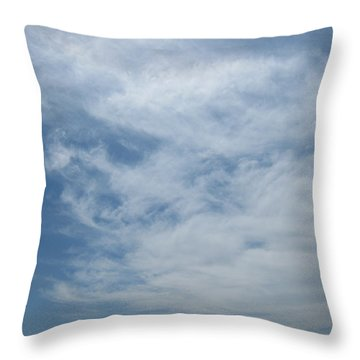Fair Skies Of Summer Throw Pillow