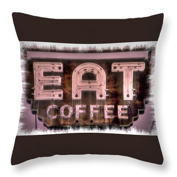 Fair Warning Or To The Point - Maryland Country Roads - Some Things Just Don't Go Together No. 2 Throw Pillow