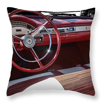 Fairlane Dash Throw Pillow by Victor Montgomery