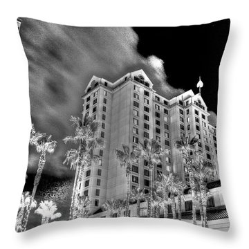Fairmont From Plaza De Cesar Chavez Throw Pillow