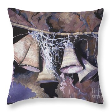 Fairy Bells Throw Pillow