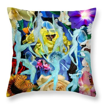 Fairy Dance Throw Pillow