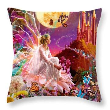 Fairy Dream Variant 2 Throw Pillow