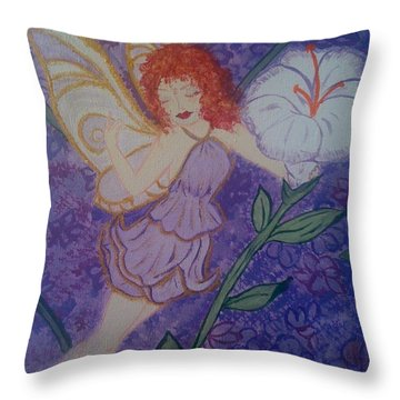 Fairy Harmony  Throw Pillow