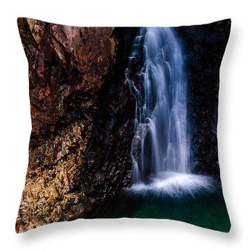 Fairy Pool Waterfall 1 Throw Pillow