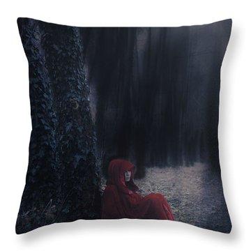 Fairy Tale Throw Pillow by Joana Kruse