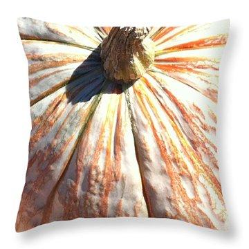 Throw Pillow featuring the photograph Fairy Tale Pumpkin by Denyse Duhaime