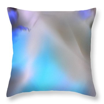 Throw Pillow featuring the photograph Fairy Work by Christine Ricker Brandt