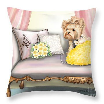 Fairytale  Throw Pillow by Catia Cho