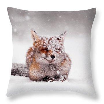 Fairytale Fox II Throw Pillow