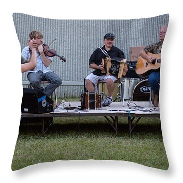 Fais Do Do At Vermillionville Boat Parade Throw Pillow