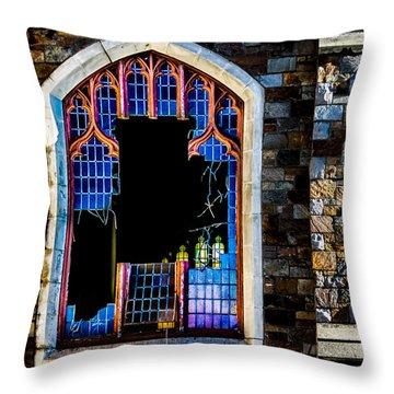 Faith Throw Pillow by Bob Orsillo