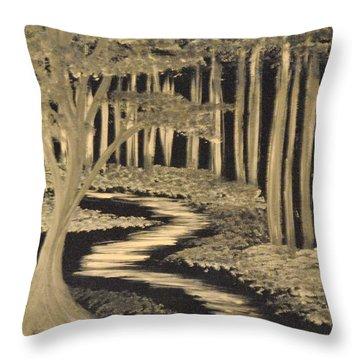 Faith Leads Us Throw Pillow