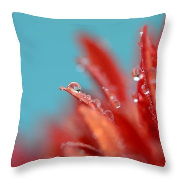 Faith Throw Pillow by Melanie Moraga