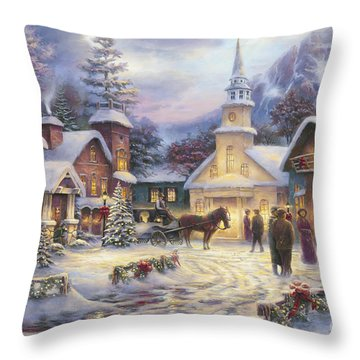 Faith Runs Deep Throw Pillow by Chuck Pinson